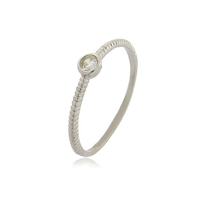 Dainty Light Spot Ring