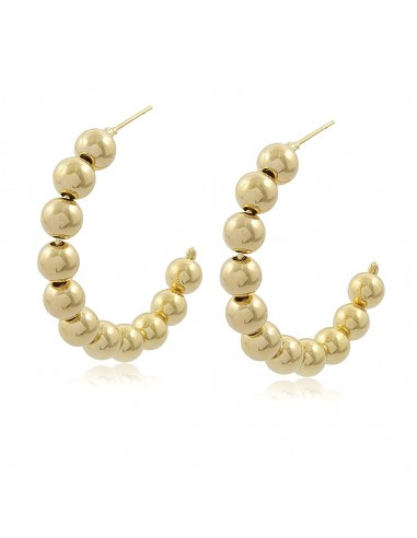 Luisa Ball Hoop Earrings