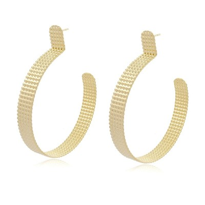 Carmela Maxi Hoop Earrings