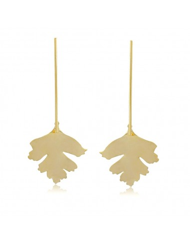 Pendientes Largos Maple Leaf