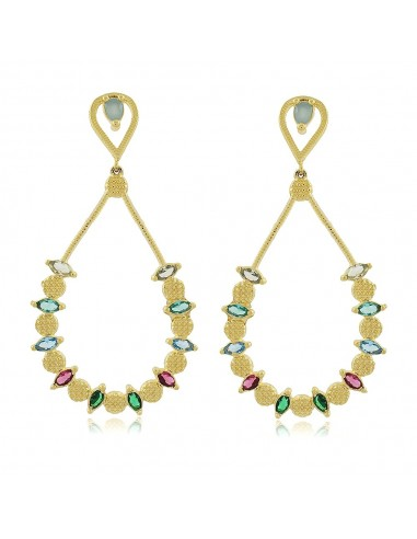 Bordeaux XL Party Earrings