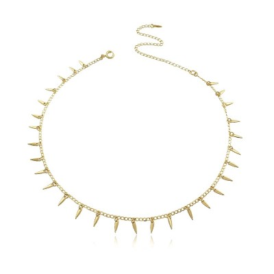 Spikes Choker Necklace