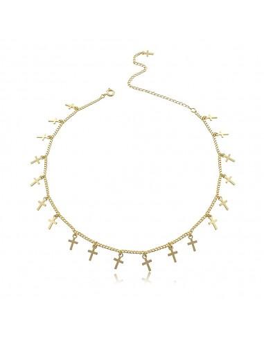 Crosses Choker Necklace