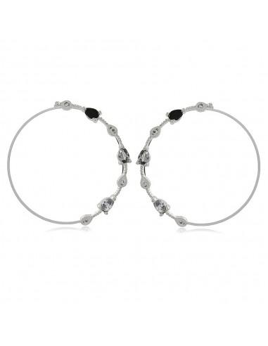 Biarritz Noir XL Party Earrings