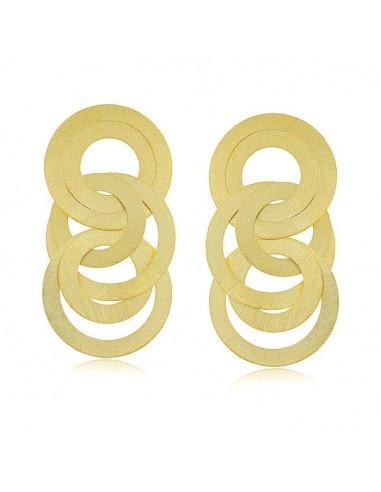 Long Intertwined Earrings