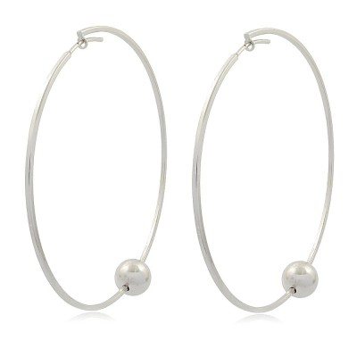 Ball Maxi Hoop Earrings