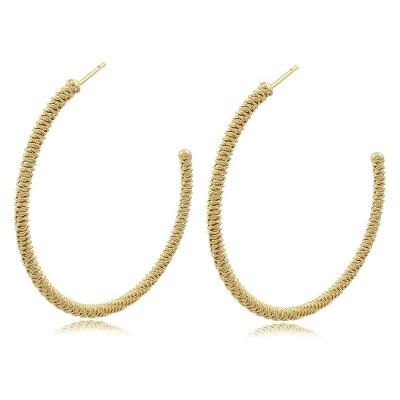 Lili Braided Hoop Earrings