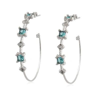 Baroque Hoop Earrings
