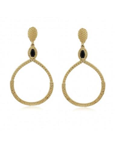 Lucille Noir Maxi Earrings
