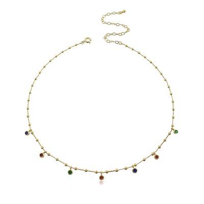 Dotty Colours Choker Necklace