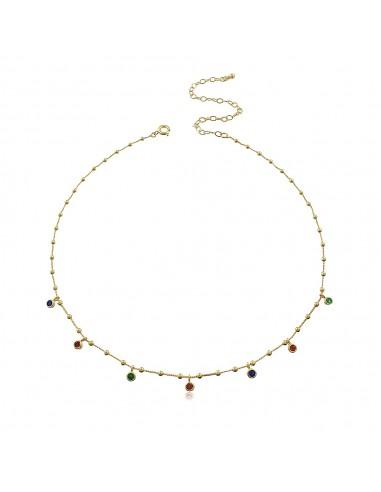 Colours Choker Necklace