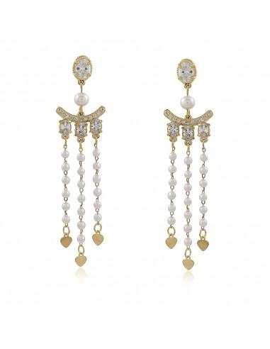 Jackie Pearls XL Party Earrings