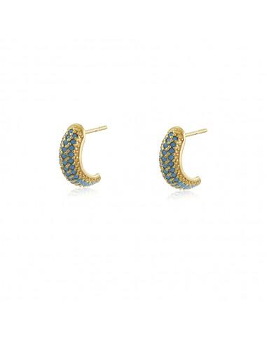 copy of Mignon Noir Mini Hoop Earrings