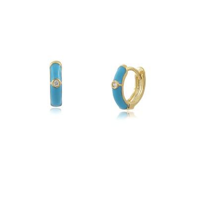 Colour Pop Mini Hoop Earrings