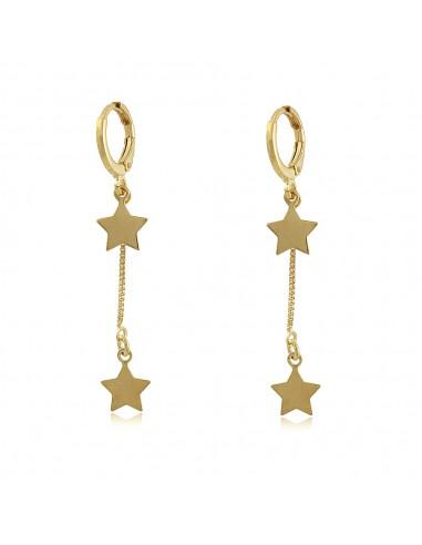 Étoiles Hoop Earrings