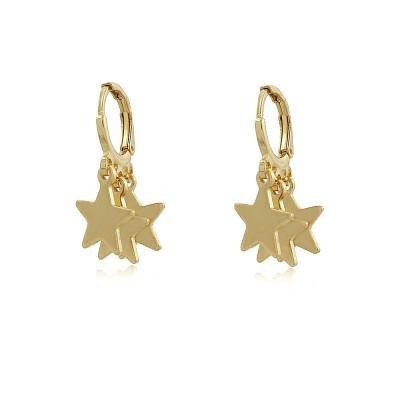 Cosmos Hoop Earrings