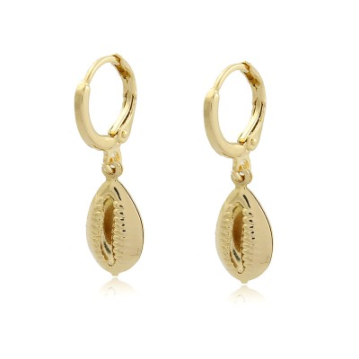 Buzios Hoop Earrings