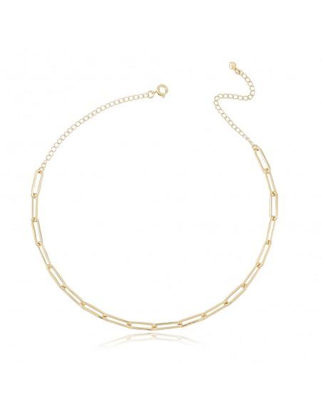 Colar Cartier Mia, colar curto de corrente Cartier banhado a ouro de 18 quilates