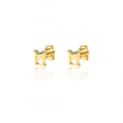 Initials Mini Earrings