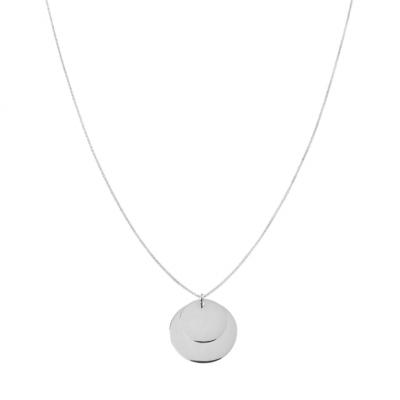 Duo Plaque Necklace