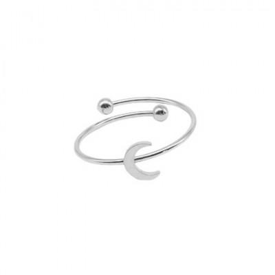 Steel Moon Ring