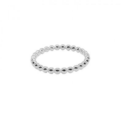 Steel Little Dots Ring