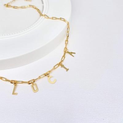 Lettre Necklace