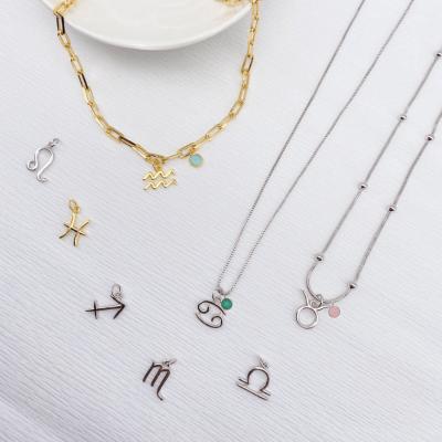 Zodiac Stone Necklace